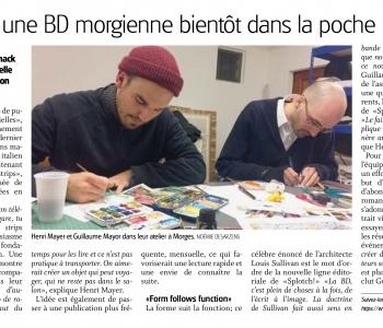 Splotch! dans La Côte du 22 novembre 2016